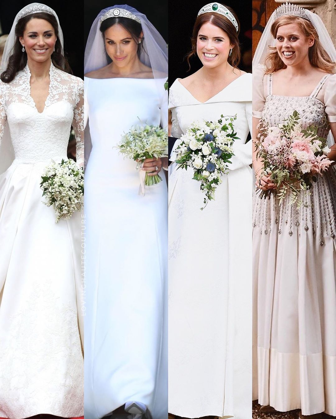 Loving Haute Couture Lovinghautecouture Added A Photo To Their Instagram Account Royal Bridal Look In 2020 Royal Wedding Dress Royal Wedding Gowns Royal Brides