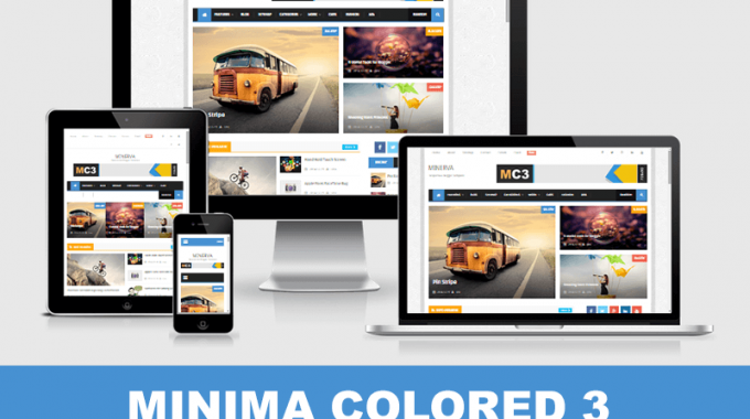 Download Template Blog Minima Colored 3 Download Xml Tips