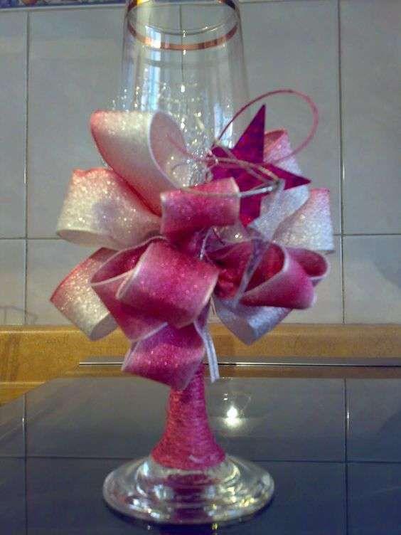 Ideas para decorar botellas y copas en 15 a os 2 diy for Ideas para decorar botellas