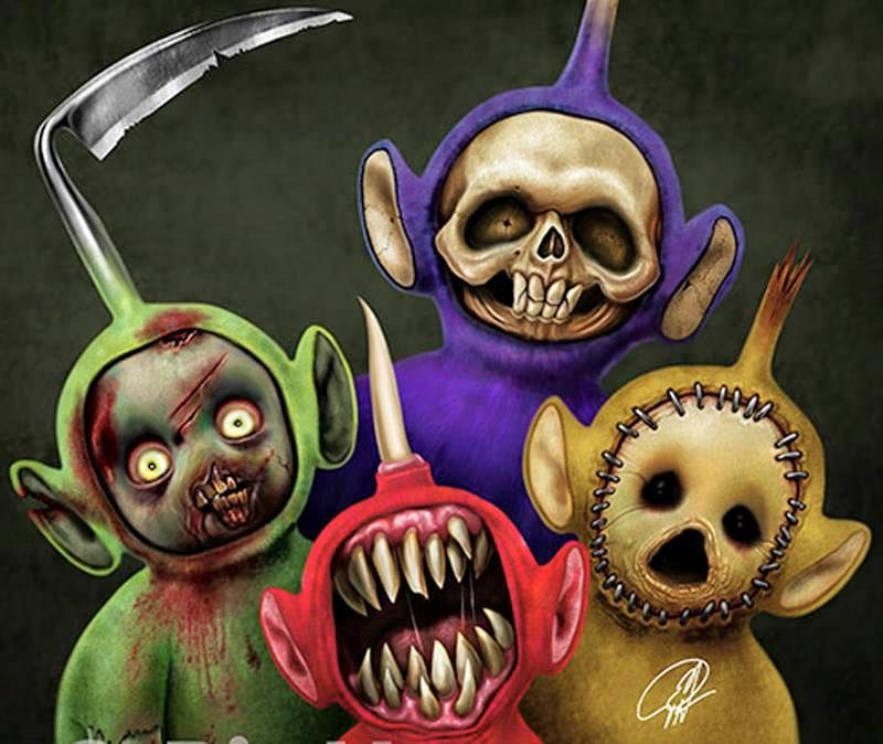 halloween teletubbies