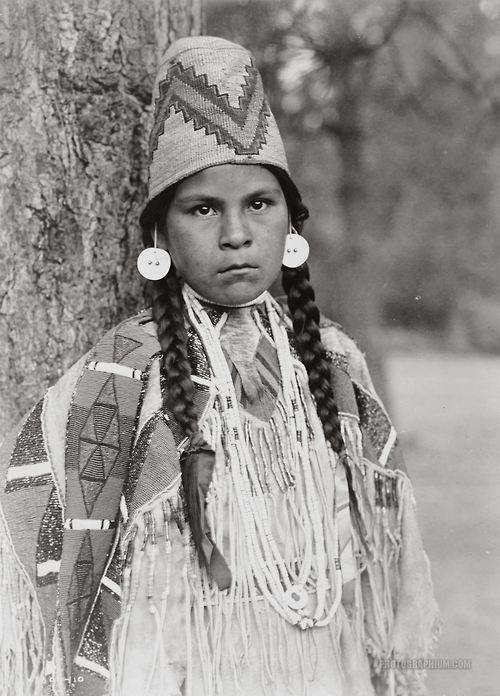 A Nez Perce girl