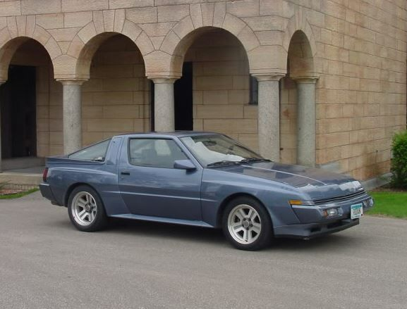 41k Miles All Original Atlantic Blue 1987 Chrysler Conquest Tsi