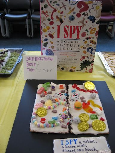 Edible Books - HCH Library Staff - Picasa Web Albums  @Christina & Klein  this is how you do it.