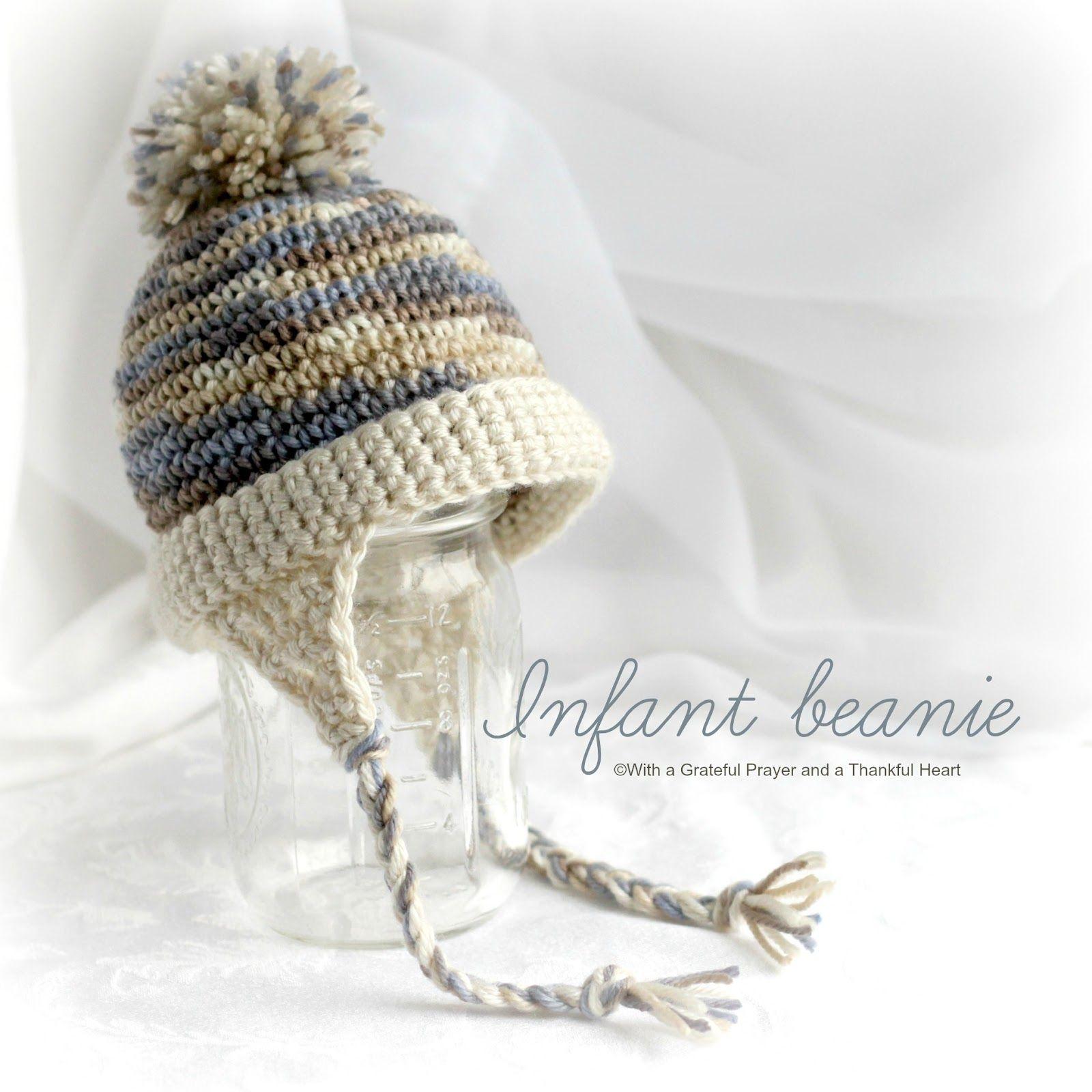 Infant Crochet Leg Warmers & Baby Beanie | Gorros y Tejido