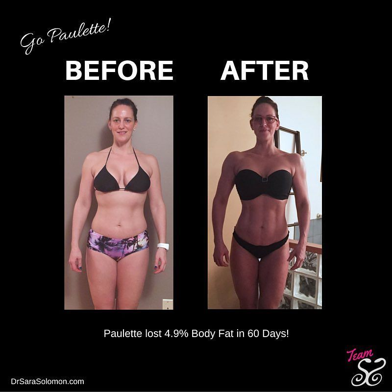 Paulette Taylor lost 4.9% Body Fat and chiselled her physique in ...