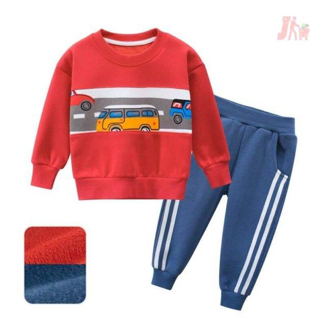 Long Pants Outfit Clothes Toddler Kids Boys Girls Tracksuit Long Sleeve Tops