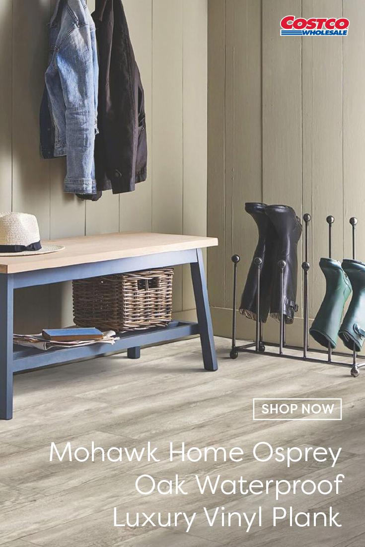 Mohawk Home Osprey Oak Waterproof Rigid 5mm Thick Luxury