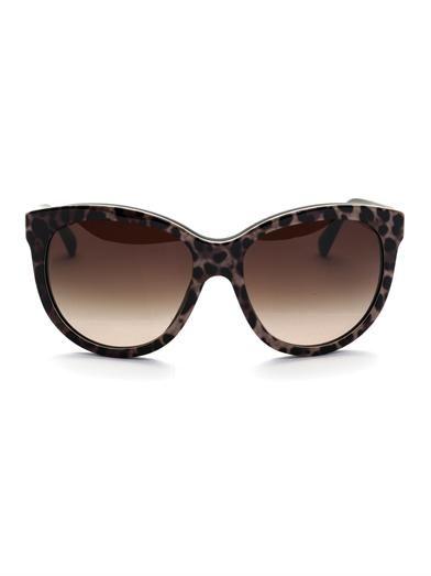 9574c4d21031 Leopard-print sunglasses | Dolce & Gabbana | MATCHESFASHION.COM ...
