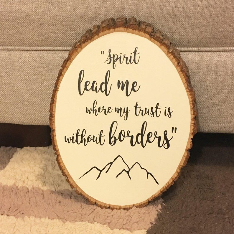 Hillsong United, Spirit Lead Me, Wood Sign, Adventure, Travel Quotes, Mountain Decor, Woodland Theme Nursery, Scripture, Bible Verses