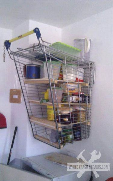 Shopping Cart Shelf Redneck Regal Kuchenregal Mobel