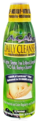 Amazon.com: AgroLabs Acai Daily Cleanse, 32-Fluid Ounce Bottle: Health & Personal Care