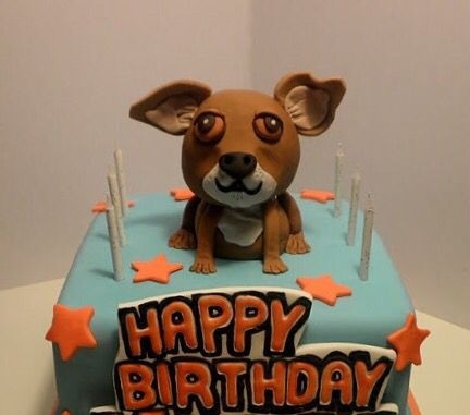 Awesome Chihuahua Birthday Beverly Hills Chihuahua Cool Birthday Cakes Funny Birthday Cards Online Unhofree Goldxyz