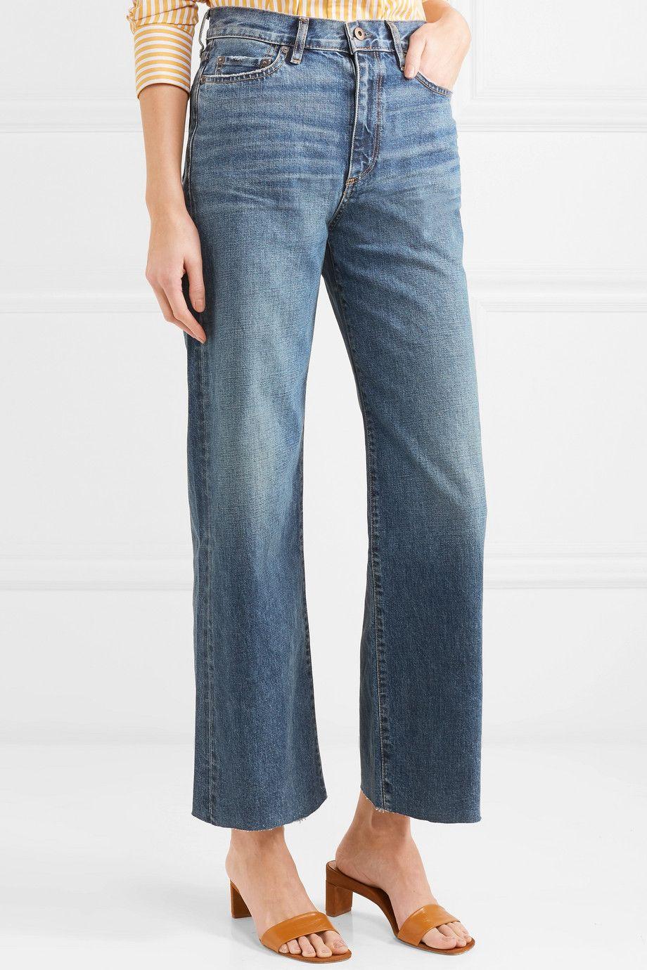 W006 Musa Mid-rise Wide-leg Jeans - Dark denim Simon Miller pfq02QHHGE