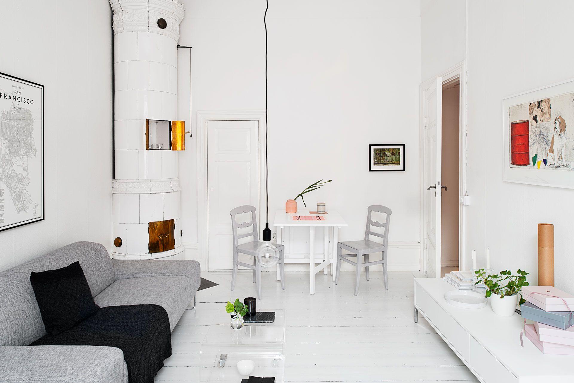 Vrouwelijk appartement met roze accenten roomed roomed