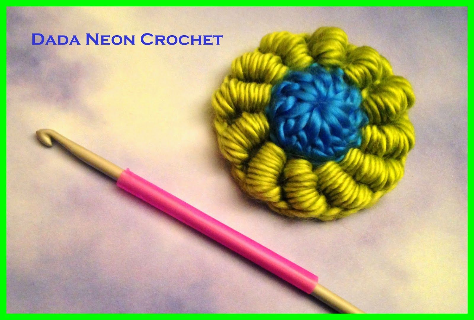 Dada neón Crochet: Lingotes Stitch Tutorial - Mi nuevo favorito crochet puntada!