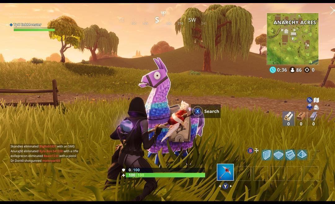 New Skin Llamas Fate Xboxone Fortnitegame Xboxe3 Xbox1 Fort