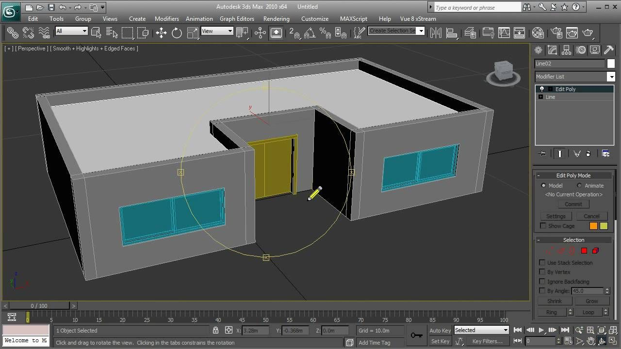 3ds max Simple house tutorial HD 3ds max tutorials