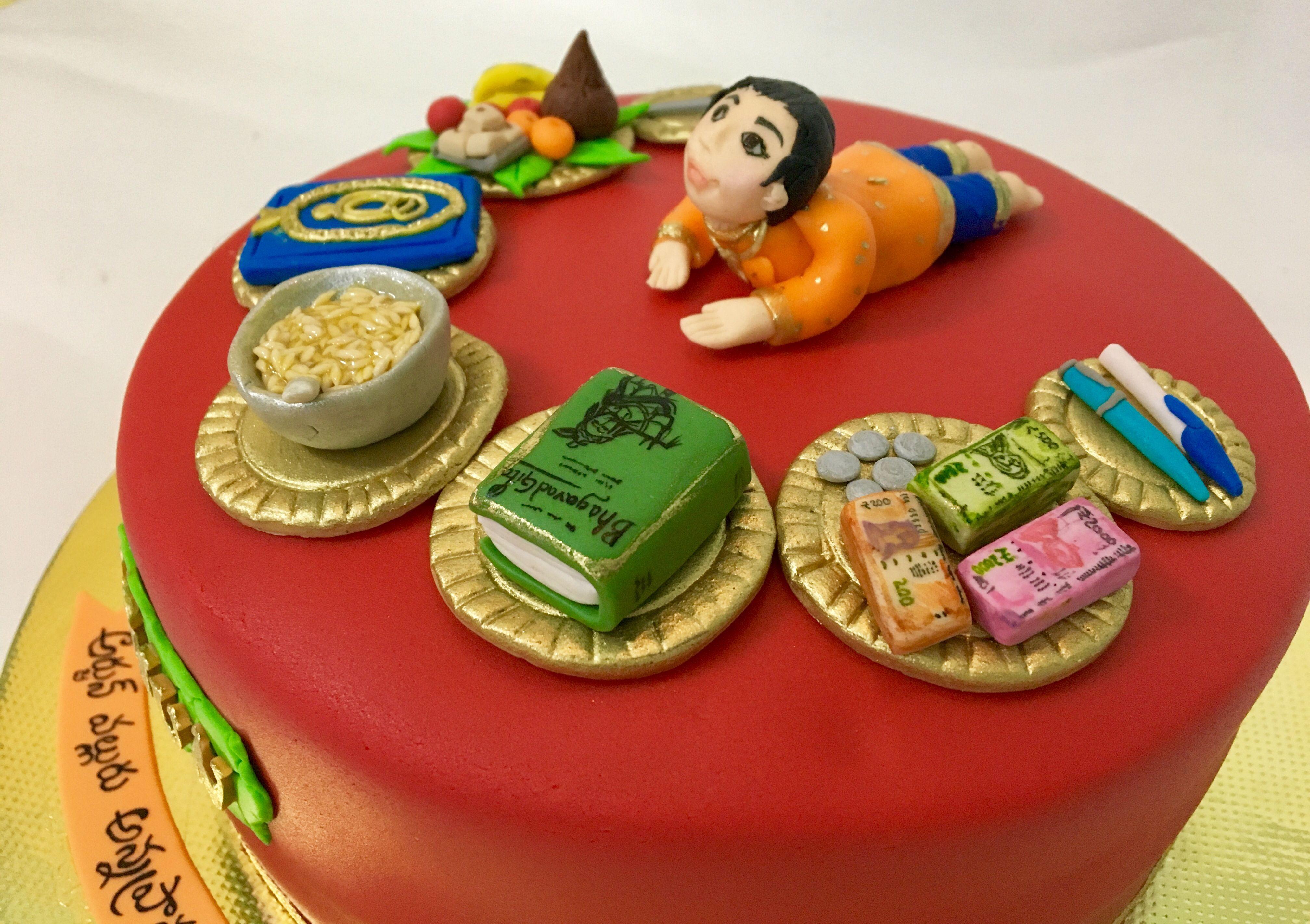 Annaprasana Cake For Baby Boy Baby Boy Cakes Cake Cakes For Boys