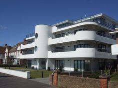 New art deco flats frinton on sea england also pinterest rh