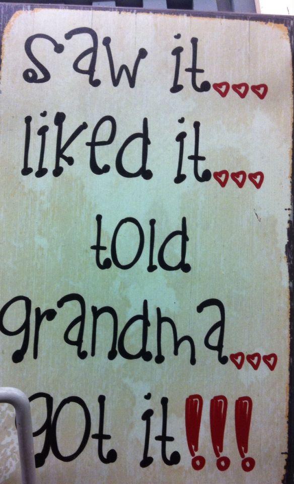 My grandgirl