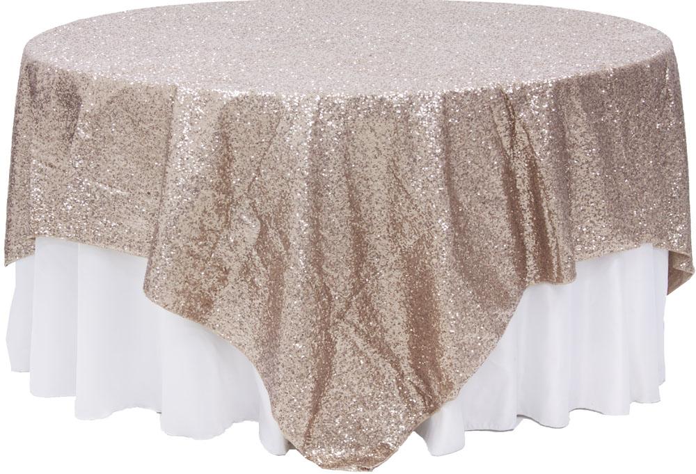 Glitz Sequin Table Overlay Topper 90 Quot X90 Quot Square