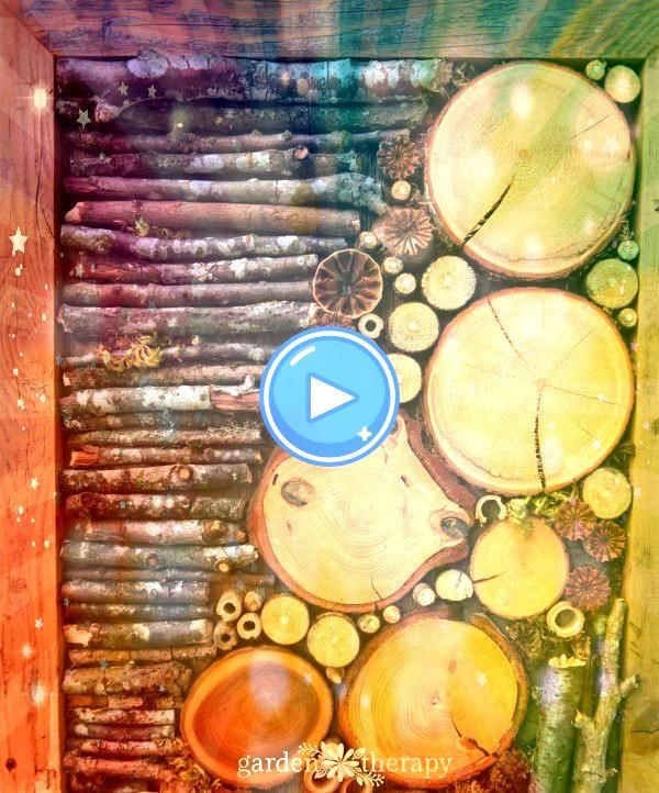 Up the Outdoors with DIY Bug Hotel Fence Art Jazz Up the Outdoors with DIY Bug Hotel Fence Art  WOOD WALL ART Wood Wall Sculpture Wood Decor Stained Wood Landscape Art Wo...