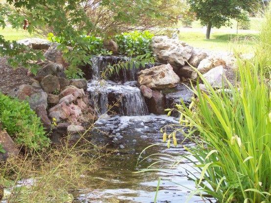 45 photos déco de bassins de jardin avec cascade d\'eau   Gardening ...