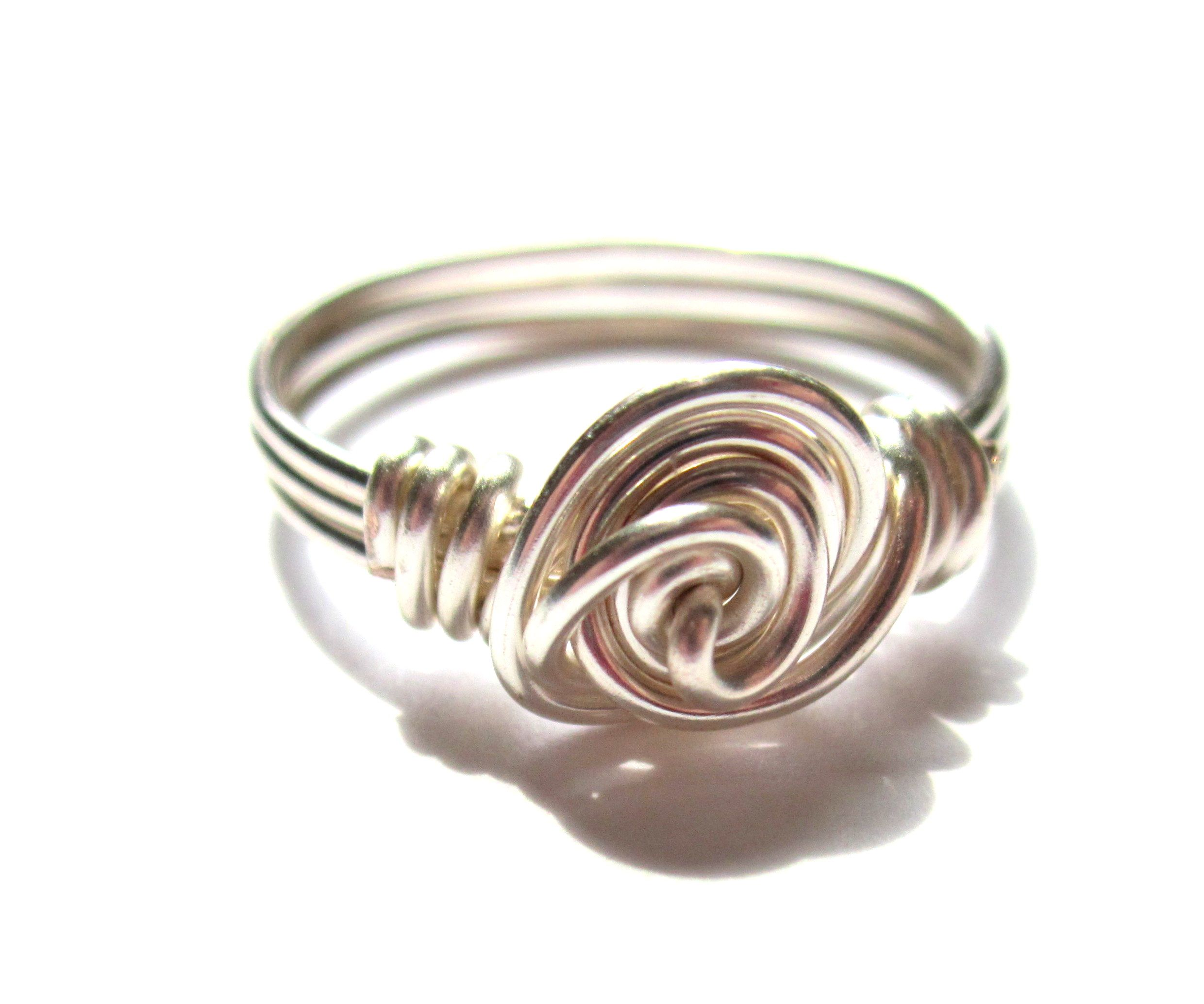 Wire Wrapped Rose Ring Tutorial | DIY Jewelry Making | Pinterest ...