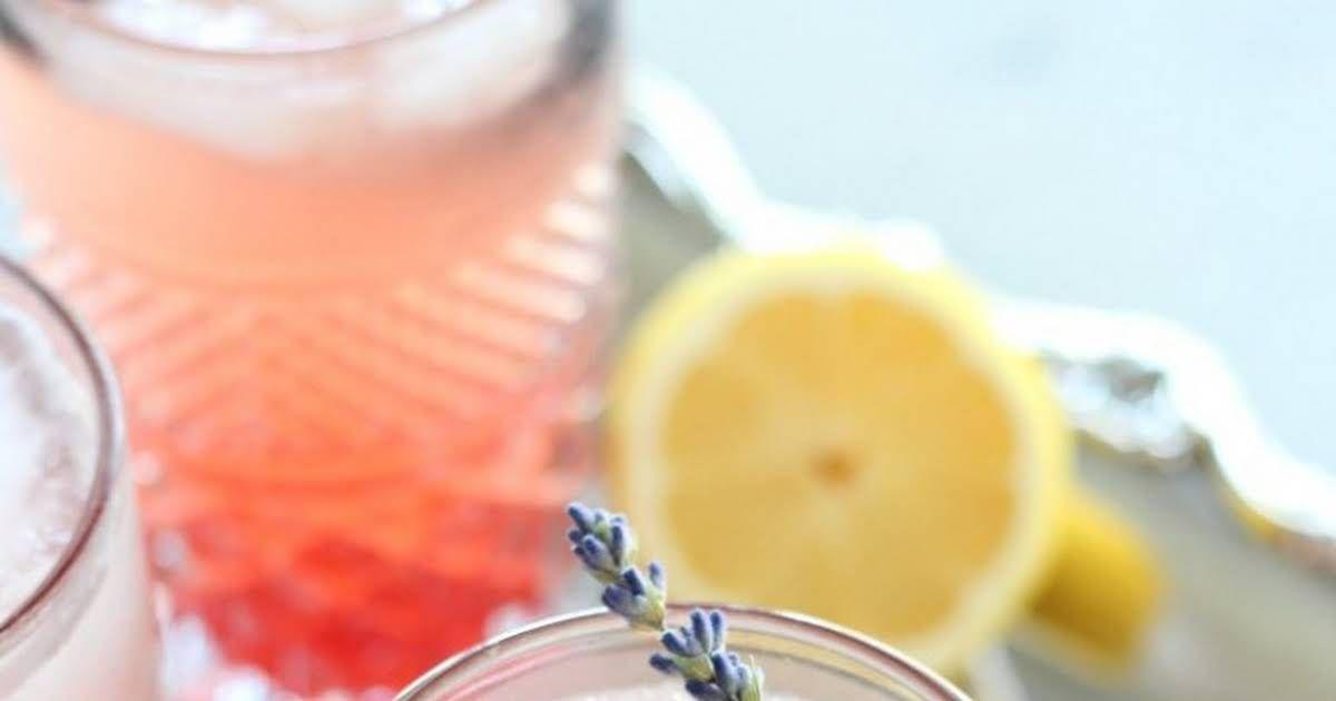 Lavender & Blackberry Sparkling Lemonade Recipe | Yummly
