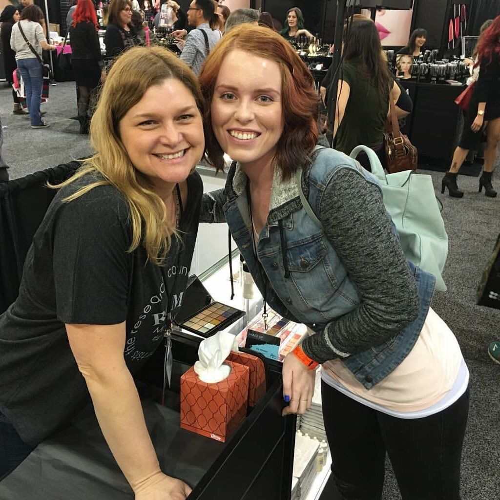 IMATS in LA! This lady has had so much influence on my
