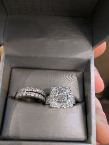 Amazing 4 00 Carat Bridal Set Worth Over 10000 Bridal Sets Jewelry Engagement Rings