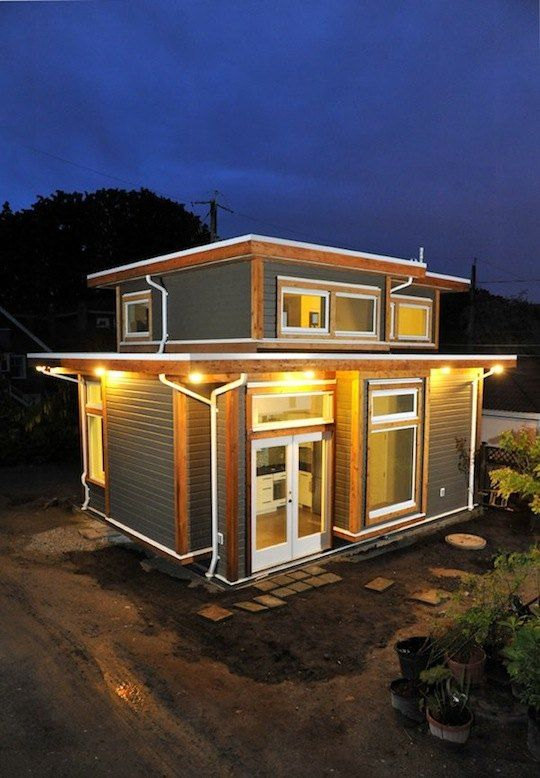 Couple Living in 500-Square-Foot Small House By Smallworks Studios on 500 square feet, houses under 300 square feet, houses under 100 square feet, 3000 square feet,
