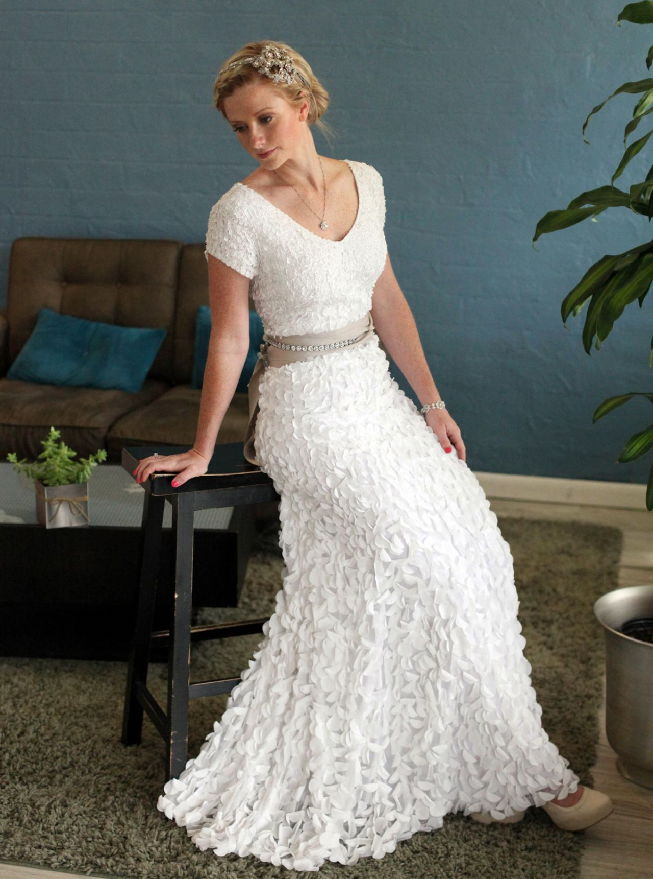 Wedding dresses for older brides second marriage pinteres for Bridal dresses for second weddings