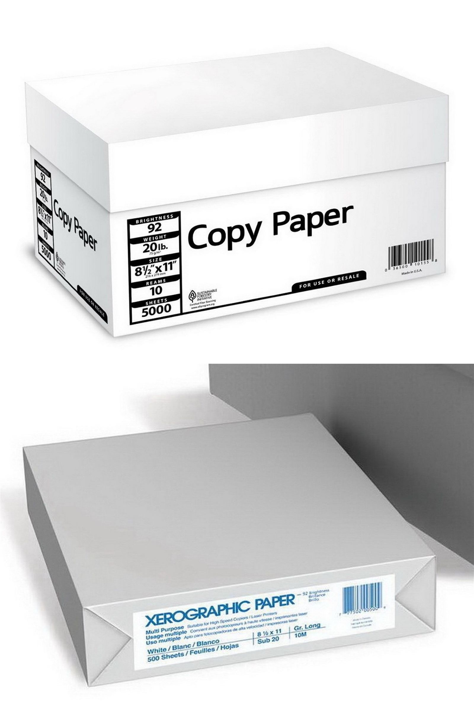 Printer Paper 86728 5 000 Sheets Copy Printer Paper 20 Lb 92 Bright 8 1 2 X 11 10 Ream Case 5000 Buy It Now Only 41 96 On Eb Printer Paper Printer Paper