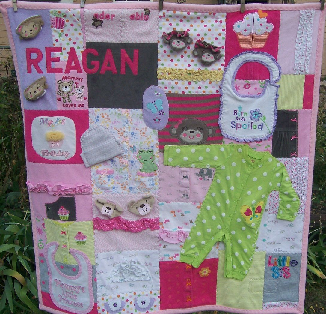 Quilting Baby Clothing Reagan S Baby Clothes Quilt