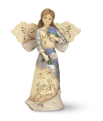 Elements Love You Mom Angel Figurine by Pavilion, Holding Flowers, 5-1/2-Inch Elements,http://www.amazon.com/dp/B00828SZL8/ref=cm_sw_r_pi_dp_ynRctb14BS9BQRF9
