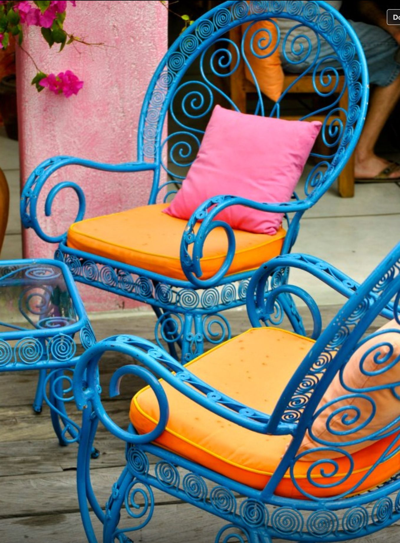 Love this blue!! Mexican cafe Bali Frew\'s photography | Home ...