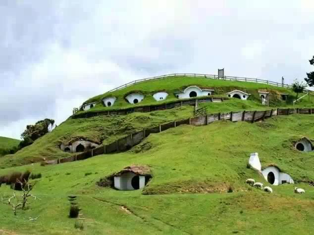 Hobbiton is known as the little village in the Lord of the Rings Trilogy. In real life that place is called Matamata and is located in New Zealand.