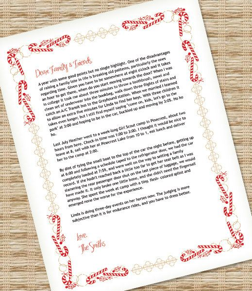 DIY Christmas Letter Paper template from #DownloadandPrint Use it - microsoft word christmas letter template