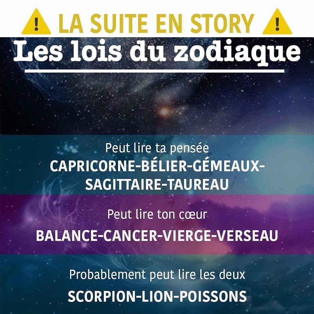 """Les lois du zodiaque on Instagram: """"@lesloisduzodiaque ✨✨✨"""" #zodiacsigns"""