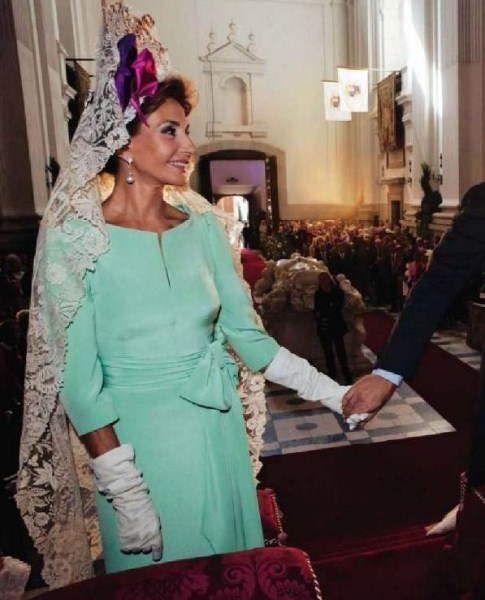 Vestido madrina nati abascal disenador