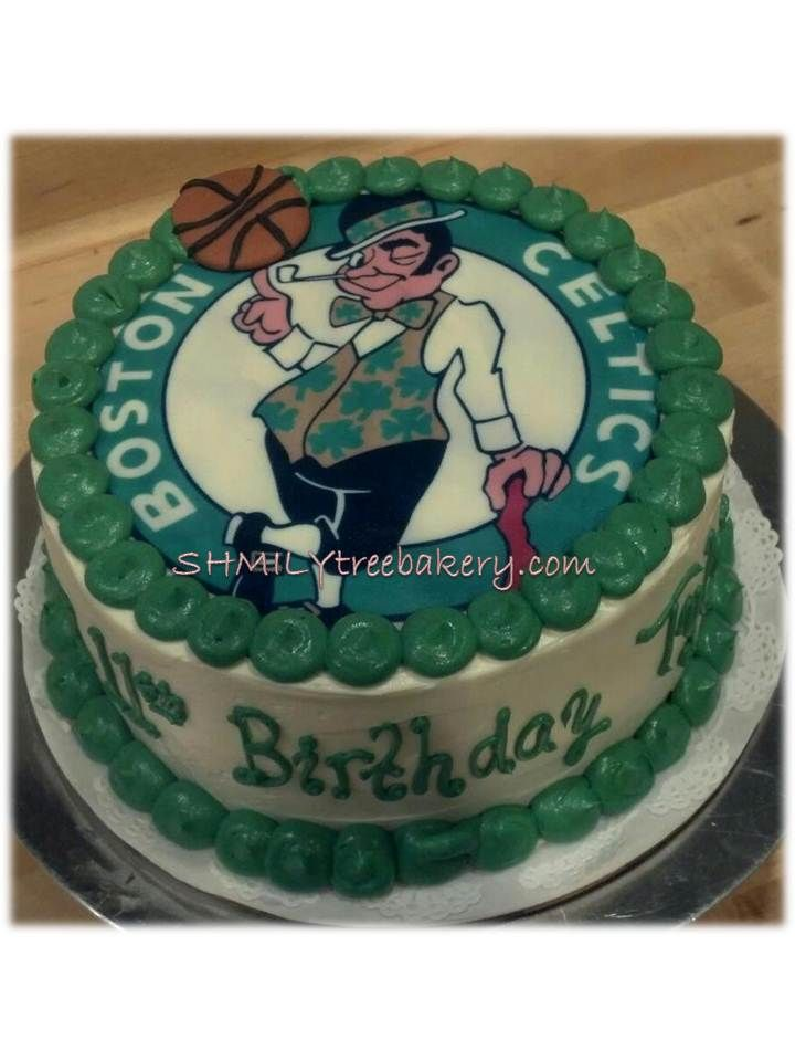 Boston Celtics Cake Hubby Birthday 12th Cakes Basketball History Celtic