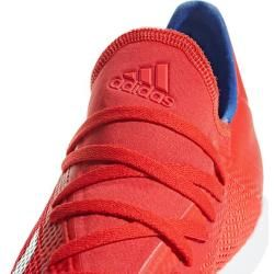 Photo of Adidas men's x tango 18.3 in soccer shoe, size 44? in red adidasadidas