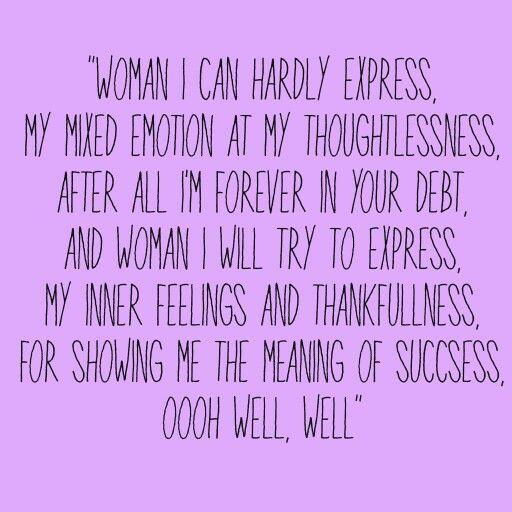 Woman by John Lennon - Songfacts
