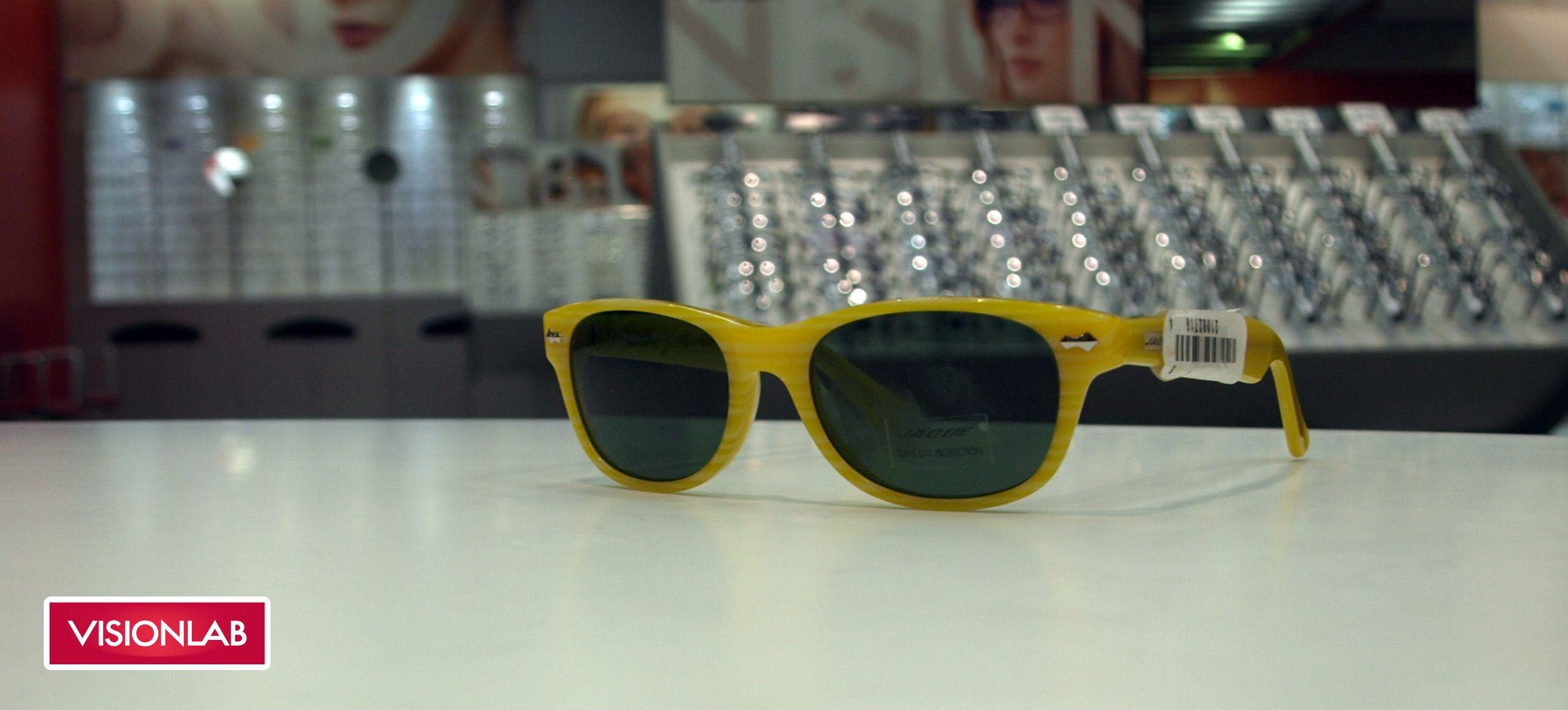 Gafas Visionlab montura amarilla http://www.visionlab.es ...
