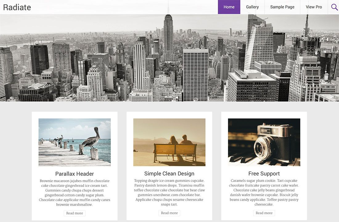 20 Free Parallax Scrolling WordPress Themes With Parallax Background ...