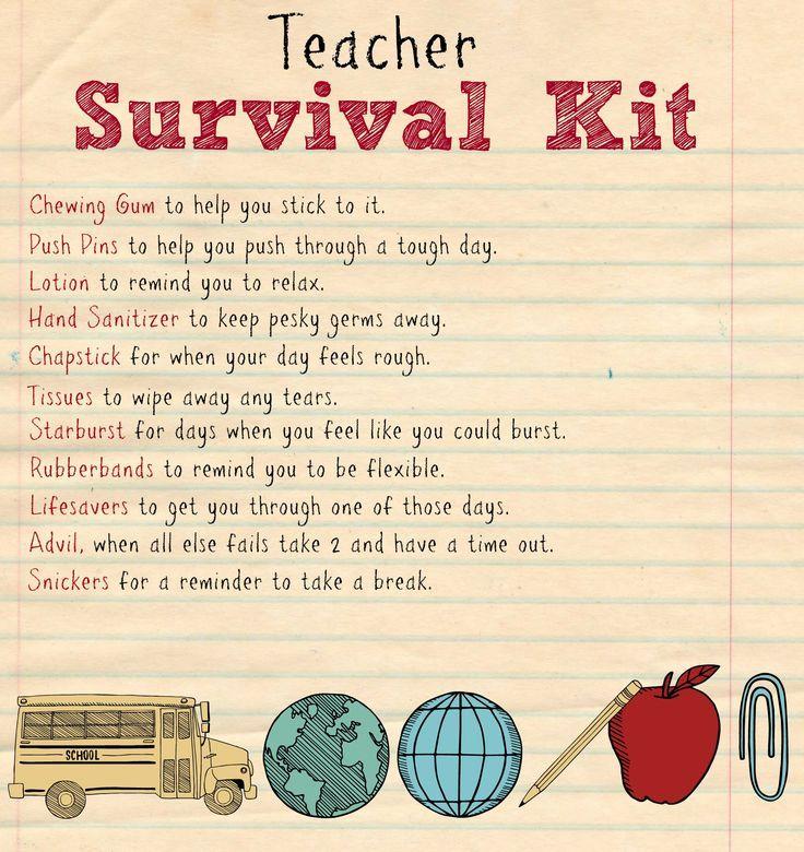 Back to School Teacher Supply Kit   Teacher supplies ...