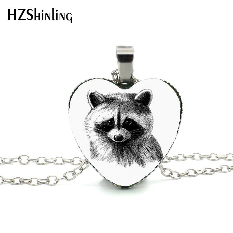 New Cat Heart Necklace Cute Cat Heart Pendant Burmese Cat Necklace Animal Jewelry Silver Heart Shaped Necklaces Hz3