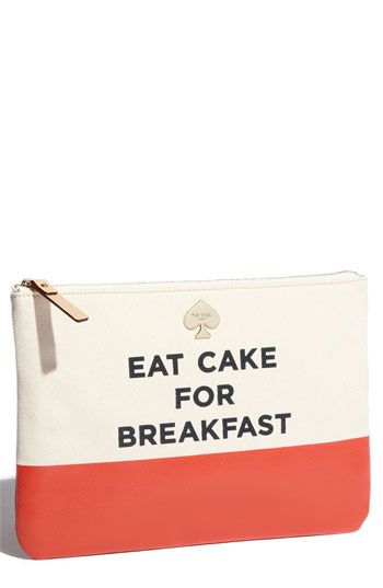 been there, done that. kate spade new york cosmetics pouch