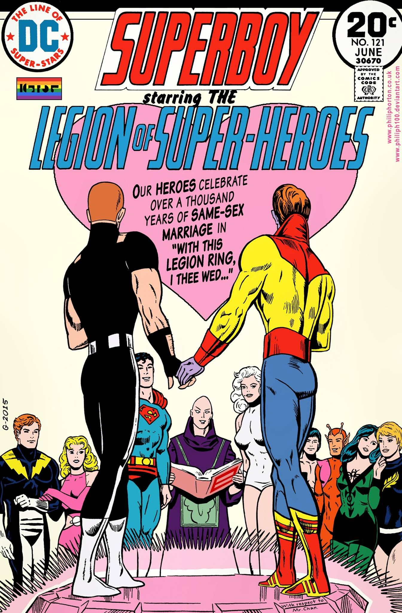 Legion of super heroes sex you